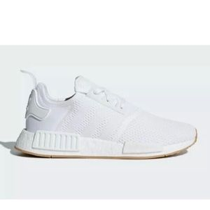 Adidas NMD_R1 White Gum Bottom Shoes Sneakers